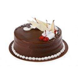Tort czekoladowo brzoskwiniowy